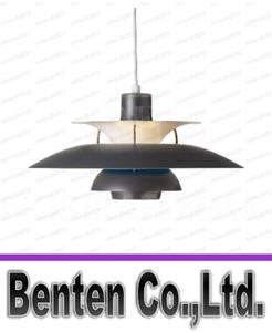 루이 Poulsen PH 5 펜던트 램프 현대 크리 에이 티브 블랙 / 화이트 / 그린 / 레드 알루미늄 펜던트 램프 LLFA11