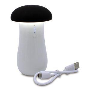 LED 조명 테이블 램프 아이폰에 대 한 USB 충전식 패션 파워 뱅크 나이트 라이트 삼성 휴대 전화