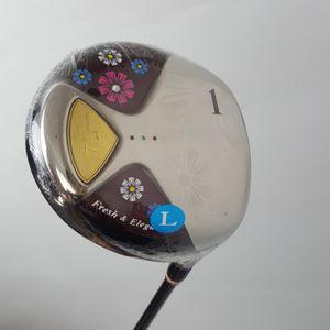 New Womens Golf Clubs Maruman FL Golf Driver de 11,5 sótão eixo grafite Golf and Driver headcover transporte clubes gratuito