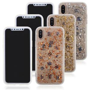 Anti Gravidade Bling Foil Glitter Caso aperto Magia sucção capa para o iPhone X XS Max XR 8 7 6 6S Além disso Samsung S8 S9 Plus Nota 8