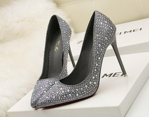 Shoes Fashion Thin 10cm Sexy Pumps Shoes Bottom Woman High-heeled Women's Super Fashion High Heels Women New Best Ubmar