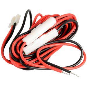 T-förmiges Gleichstromkabel für Kenwood-Mobilfunkgeräte TM-2530/2550 / G707 / D700 / 731 G00135