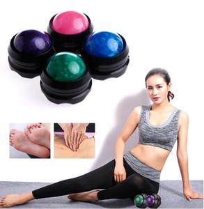 Manual masajeador pelota de rodillos Secretos eficaz alivio del dolor cuerpo se relaje bolas de rodillos de masaje Cuidado de la Salud