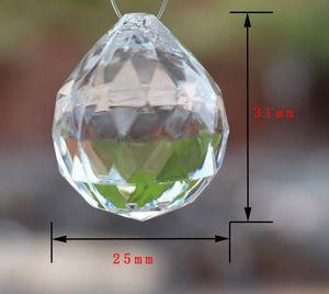De gran tamaño cristal acrílico transparente perlas sueltas banquete de boda de navidad bricolaje decoración grano drapear guirnalda de la borla de la borla de la pantalla decoración