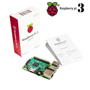 Wholesale-2016 New Element14 original Raspberry Pi 3 Model B Board 1GB LPDDR2 BCM2837 Quad-Core Ras PI3 B,PI 3B,PI 3 B with