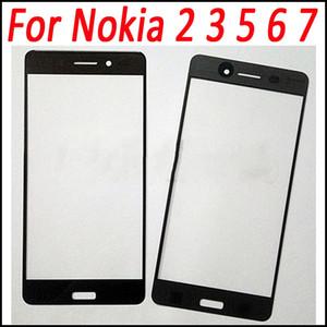 Per Nokia 7 Front Glass Touch Screen Pannello esterno Parte superiore Copriobiettivo Parte di ricambio per Nokia 2 per Nokia 3 5 6 7