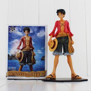 Tek parça Monkey D. Luffy figürü eylem oyuncaklar PVC Şekil Modeli oyuncak 25cm ücretsiz kargo perakende