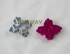 Металлические материалы 8 цветов chrome D-pad крест кнопки направления частей для Xbox один контроллер xboxone