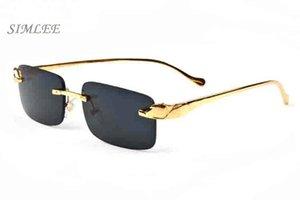 2017 designer di occhiali da sole economici occhiali da sole per uomo oro argento montature occhiali lenti trasparenti celebrità bufalo corno occhiali da vista