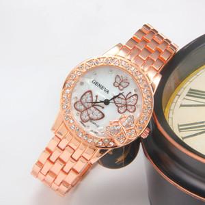 Heiße Art Stahlband ms Studenten beobachten einige Bohren und Diamant schöne Art und Weise Dekoration Uhrmann- Beutelpost