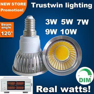 3 years warranty 85 to 265V 3W 5W 7W 9W 10W 110V 220V dimmable lamp bulb LED E14 spotlight spot light