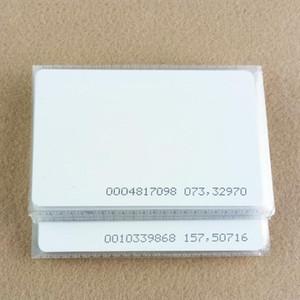 1000 pçs / lote TK4100 4102 / EM 4100 chip RFID 125 KHz cartão em branco Fina PVC ID Cartão Inteligente