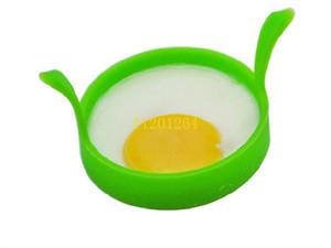 100 adet / grup Ücretsiz Kargo Mutfak Yemek Gadget Özel Tencere Yuvarlak Silikon Yumurta Yüzük Poacher Shaper Gözleme Yüzük