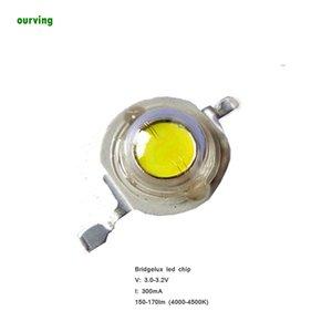 Lumineuse élevée Effienvy de Super Bright LED 1W 45mil Bean 140 Angle de faisceau 3000K 4000K 5000K 6000K