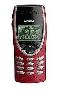 Remis à neuf d'origine Nokia 8210 2G bi-bande GSM 900/1800 GPRS classique multi-langues Unlocked Moble Téléphone