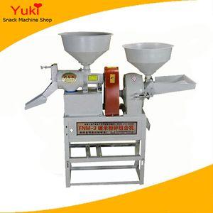 Casa Mini Moinho de Arroz Moinho De Arroz Máquinas Preço Arroz Fresadora Com Triturador De Mandíbula Triturador De Milho Chilli Pó Máquina De Moer