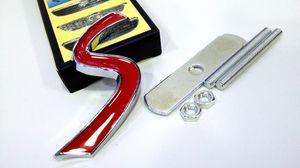 10pcs / серия 3D Metal Mini Cooper S Передняя решетка эмблема для R50 R52 R53 R56 R57 R58 R60 JCW Grill Знак