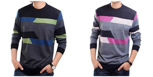 O-Neck Sweater Hombres Ropa Hombres Suéteres Lana Cashmere pullover Hombres Casual Dress Long Sleeve Shirt 19