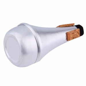 Hot Aluminium Straight Trumpets Mute For Jazz Instrument Practice Beginner