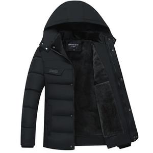 NORMEN мужская повседневная парки твердые флис зимняя куртка мужчины с капюшоном толстые предупредить мягкий пальто человек Jaqueta Masculino Inverno