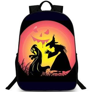 Zaino per tutti i santi Happy Halloween daypack Evil festival schoolbag Zaino per il tempo libero Sacca da scuola Outdoor day pack