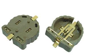 800pcs / Lot CR1220 bateria da tecla titular / socket / clipe, montagem SMT superfície suporte de bateria tipo