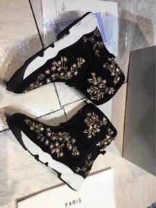 Новый роскошный женский снег CLASSIC TALL ботинки лодыжки Спорт Boots Мода Twig Алмазные обувь Zip Размер 35-39