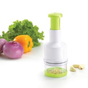 Anself Cozinha Acessório Ferramenta Manual Multifuncional Pressionando Alho Triturador Vegetal Masher Chopper Slicer para Cebola De Frutas