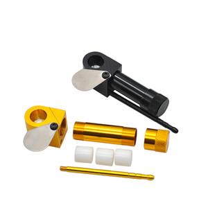 Aluminium Proto-Tabak-Rohr Vaporizer tragbares Metall Rauchpfeifen ultimative Werkzeug Tabak Herb Pipes Öl Herb Hidden Hand Löffel Rohr