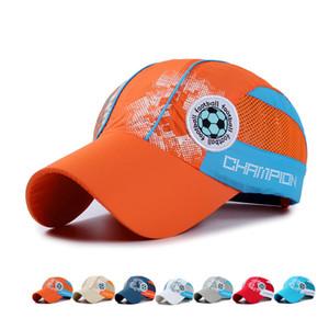 여름 소년 소녀 공 그물 야외 방수 모자 돔 모자 스포츠 어린이 야구 모자 Snapback 어린이 태양 모자 GH-19