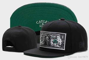 Nueva Moda Cayler Hijos DOLLA DOLLA BILL YALL Gorras de béisbol Casquetas chapeus para Mujeres Hombres Snapback Snap Back Unisex Hip Hop Sombreros gorras