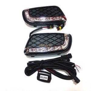1 yedek, Hızlı Kargo: Smart Işıklar durumda Koşu Temmuz Kral LED Gündüz 2008-2011 LED 6000K Beyaz Ön Tampon DRL, 1 fortwo