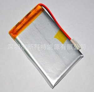PL503759 soft pack bateria 1200 mah bateria de polímero de lítio GPS