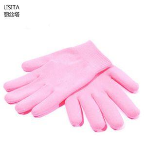LISITA Gel Spa Silicone Gloves Soften Whiten Exfoliating Moisturizing Treatment Hand Mask Care Repair Hand Skin Beauty Tools