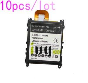 10pcs / lot 3300mAh LIS1525ERPC batería de repuesto para Z1 L39H L39T L39U C6902 C6903 C6906 C6916 C6943 baterías Batteria Batterie Batterij