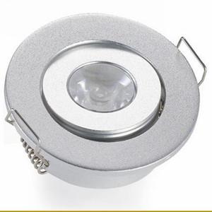 1W 3W البسيطة LED النازل الأبيض جولة بقعة أضواء السقف 110V 220V لوحة الصمام الخفيفة راحة الألومنيوم مصباح دافئ الأبيض