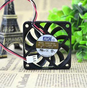 Origine AVC DA06010B12U 60 * 60 * 10 6cm 12V 0.40A 3 alimentation fil ventilateur de processeur du ventilateur