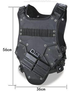 Trasformatore Sport all'aria aperta Body Protective Armor, Combat Assault Waistcoat Molle modulare Tactical Vest, Hard Armor Plate Carrier