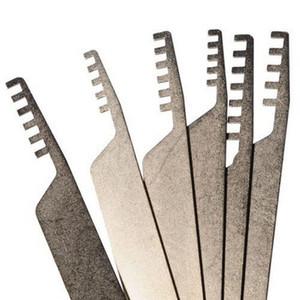 высокое качество дешевые 6шт кирки для замка гребень отмычку набор бытовой слесарь инструмент из нержавеющей стали