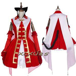 Disfraz de Cosplay de Fate / Stay night Tohsaka Rin Disfraz de Magic Ruby Carnival Halloween Custom Made