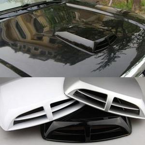 Simulation Vent Air Universal Car voiture Décoration Débit d'air d'admission Scoop extérieur Bonnet Vent Couverture capot