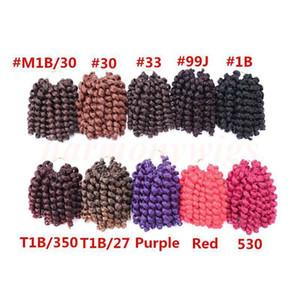 Freetress African 2X Jumpy wand 컬 합성 땋는 머리 벌크 크로 셰 뜨개질 꼰 머리 트위스트 합성 머리 확장 더 많은 색상