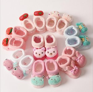 2016 neueste Art Baby reizende reine Baumwolle Slipper Socke, footgear / Schuhe hohe Qualität Säugling bady Jacquard Socken Schuhe