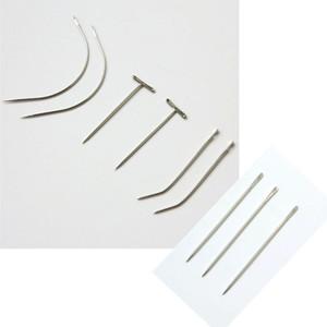 12 шт./пакет иглы из нержавеющей стали швейные иглы для плетения волос профессиональные наращивание волос инструменты другой стиль