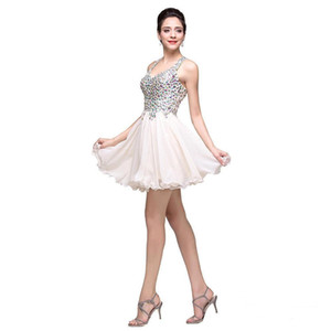 Sweetheart Short Party Dress Empire 2018 Bateau Neck Knee Length Tulle Cocktail Party Homecoming Prom Dress