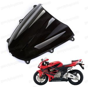 Neue Motorrad Doppel Bubble Windschutzscheibe Windschutzscheibe ABS für Honda CBR 600RR 2005-2006 F5