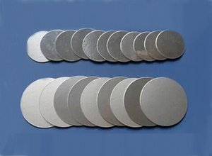 1000pcs Customizable 15-50mm Aluminum foil seals for PET PE HDPE bottle medical grade
