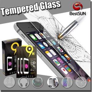 واقي شاشة صلب مقاوم للكسر بحماية زجاجية لهواتف ايفون 7 ، 6 اس ، سامسونج جالاكسي S7 S6 ، نوت 5 LG G5
