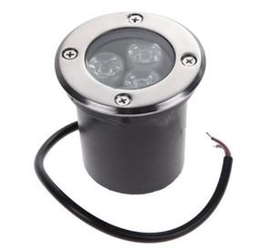 AC85-265V 3 * 3W Epistar Chips LED Luz Subterrânea IP67 Enterrado Recessed 9W Floor Lâmpada Exterior