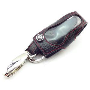 جلد طبيعي غطاء مفتاح AMG A45 GLA45 CLA45 C450 C63 SLK55 GT CLS63 م gl gle sl gs sls cl اكسسوارات السيارات
